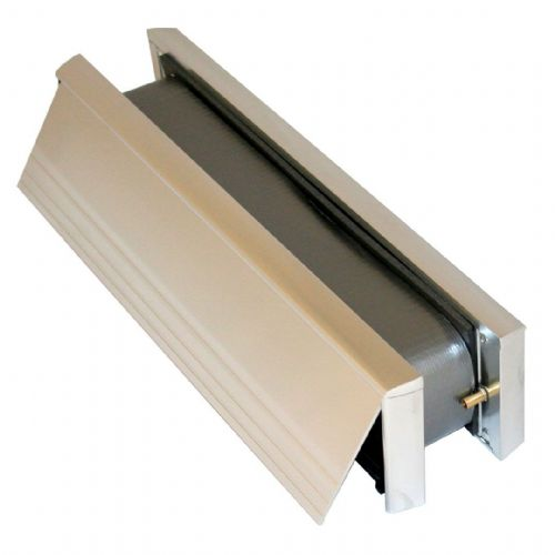 Fire Rated Telescopic Letterbox Matching Frame (Satin Aluminium)